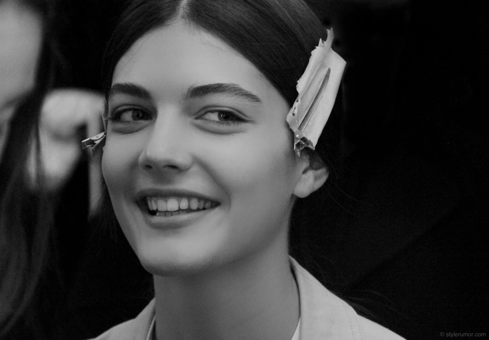 Tommy Hilfiger Fall Winter 2012 Backstage Beauty 4