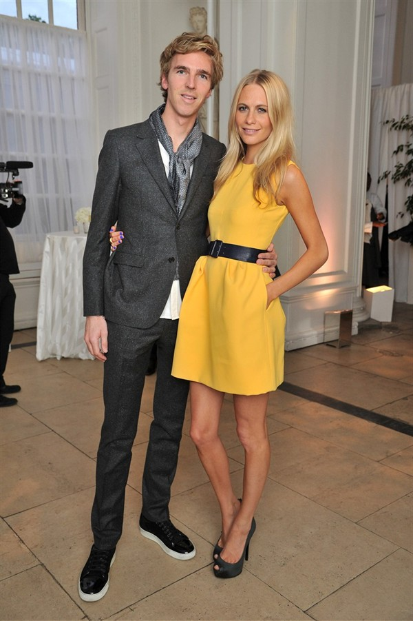 Cartier Celebrates New Tank Anglaise Watch James Cook Poppy Delevingne