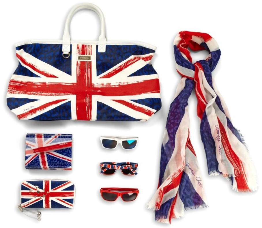 Jimmy Choo Union Jack Collection 1