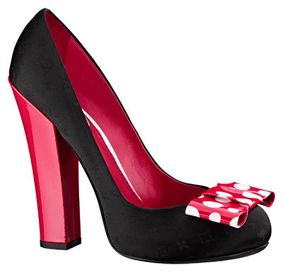 Yayoi Kusama Louis Vuitton Pump Monogram Nylon Dots Infinity red