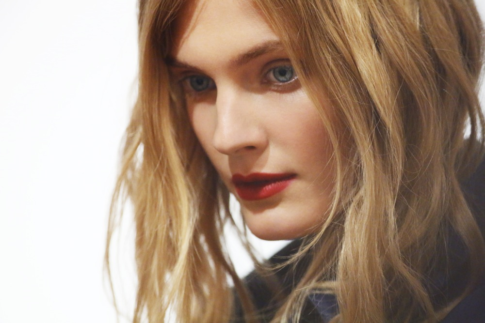 Burberry Beauty Backstage at the Burberry Prorsum Spring Summer 2013 Womenswear show 17