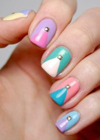 9 Best Studs Nail Art Designs | Styles At Life