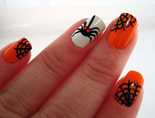 9 Simple and Easy Halloween Nail Art Designs 2018 Styles At Life