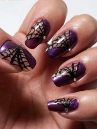6 Best Spider Web Nail Art Designs | Styles At Life