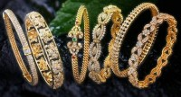 20 Exquisite Diamond Bangle Designs   Styles At Life