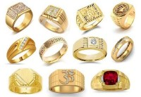 25 Simple and Heavy Indian Gold Rings Designs for Men 2018