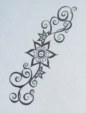Top 10 latest Mehndi Stencils Designs Styles At Life