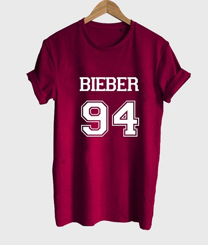 9 Popular and Trendy Justin Bieber T-Shirts Styles At Life