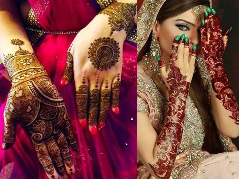 Hair Color Style Names 9 Modern And Attractive Red Cone Mehndi Designs Styles