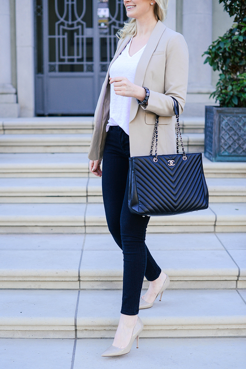 Outfit Business Casual Cute Business Casual Outfit Ideas Chic Blazer Jeans And Heels