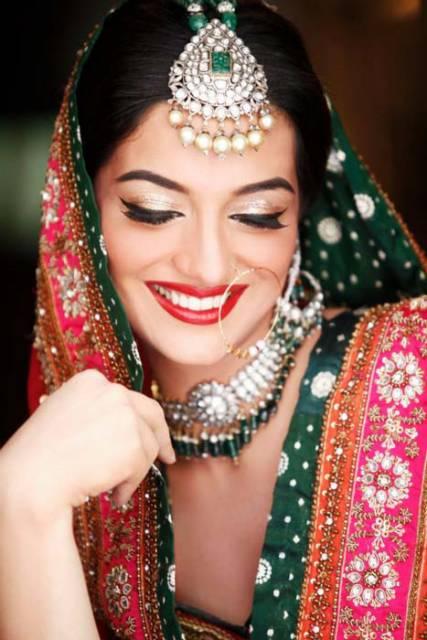 Makeup For Mehndi Night : Sabs salon bridal makeup for mehndi barat valima day