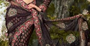 latest fashion in saree