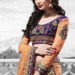 Paki & Indian Hot Women Lehenga Choli Wedding Design 2013-14 By Natasha Couture