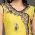 neck designs for salwar kameez with borders