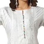 Latest Neck Designs for Dresses 2014