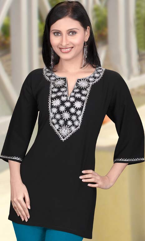 Beautiful Black Designs of Neck