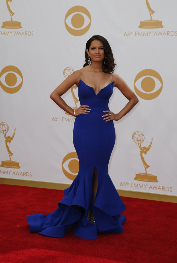 Rosci Diaz in Michael Costello (Photo: Getty Images and Huff Post Style)