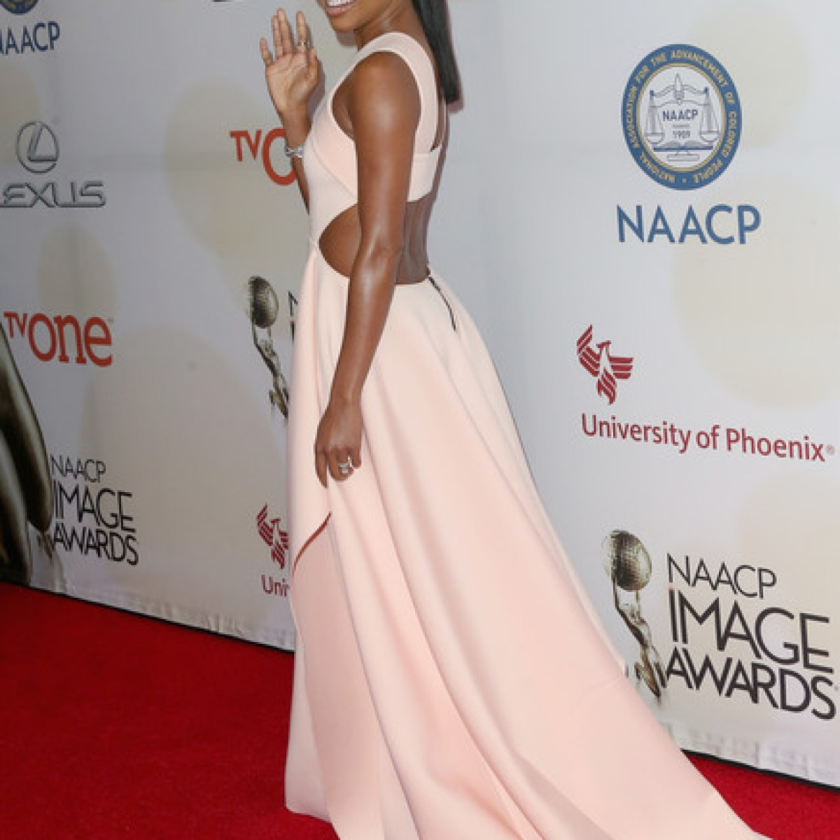 Gabrielle Union NAACP Image Awards 2015 Style Stamped2