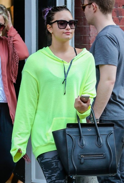 Is Demi Lovato Trying To Bring Back Neon Trend