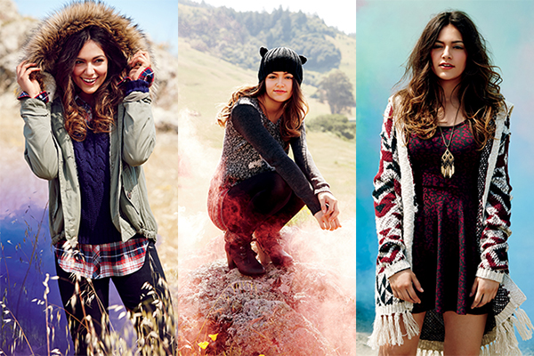 Bethany Mota Aeropostale Fall 2014 Collection (Lookbook)
