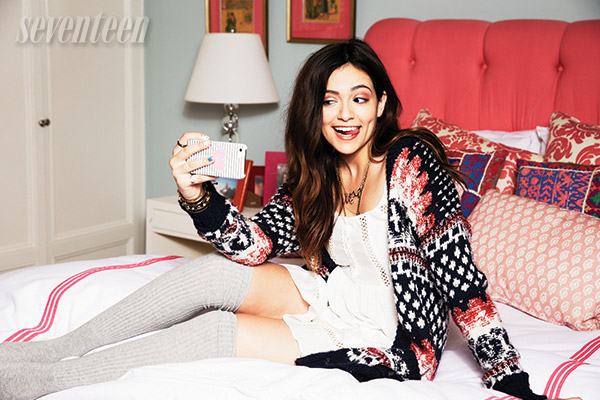Bethany Mota Covers Seventeen Magazine for October 2014 Issue 3