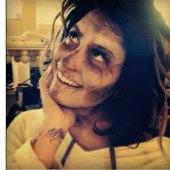 Demi Lovato Tweets Walking Dead Inspired Makeup Look