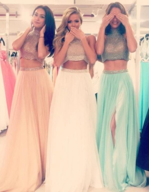 2015 Prom Dresses - Two - Piece Prom Dresses 6
