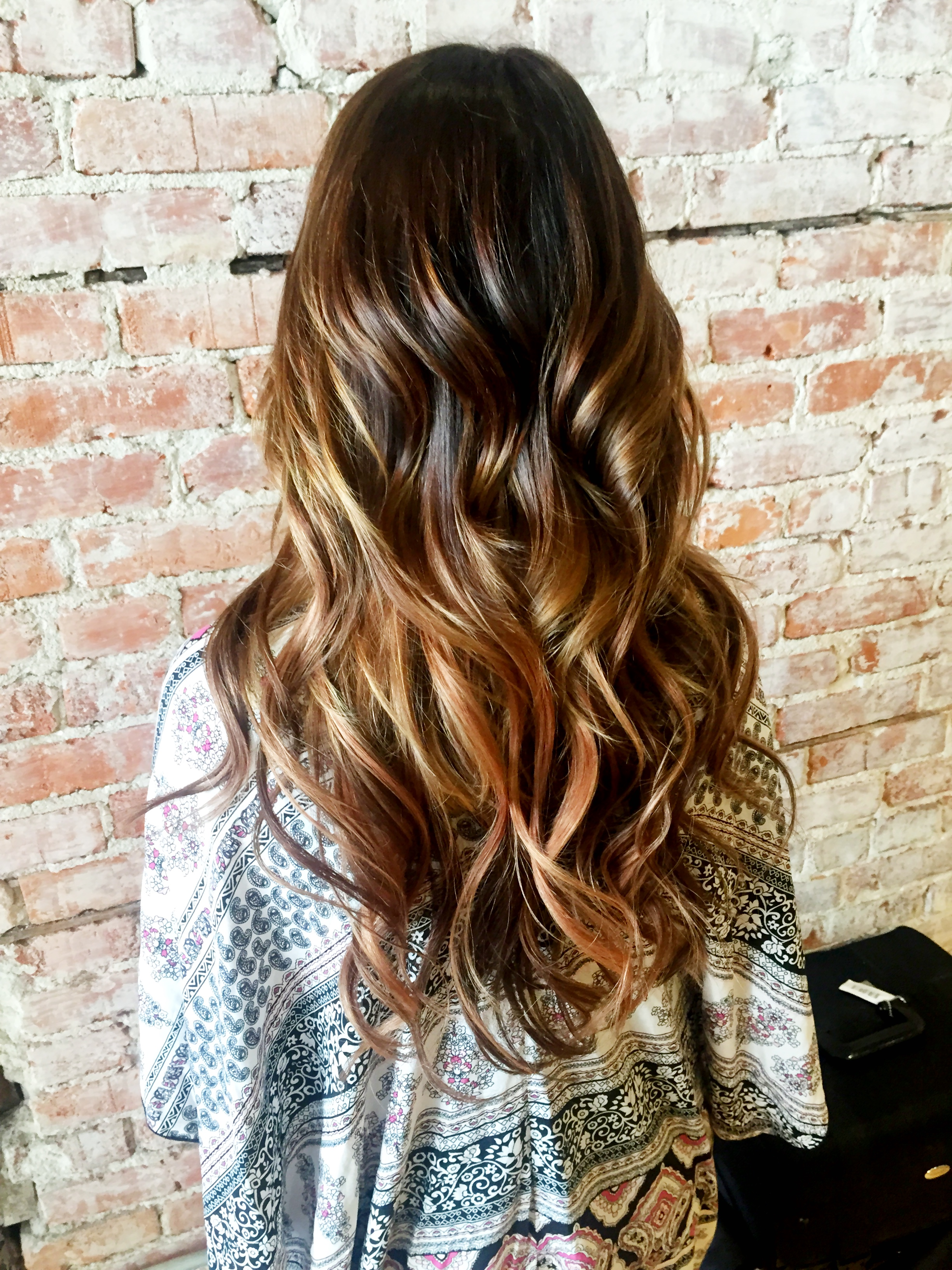 Ombre Look The Difference Between Balayage Ombre Hair Coloring Guide