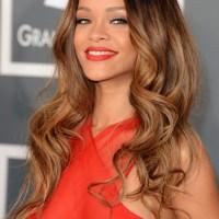 Rihanna Ombre Hair Styles