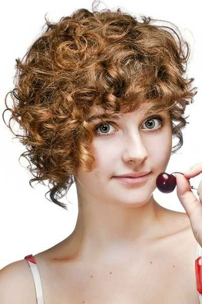Naturally Curly Pixie Cut - Short Hairstyle