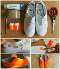 DIY Fashion: 15 DIY Shoes Design Ideas