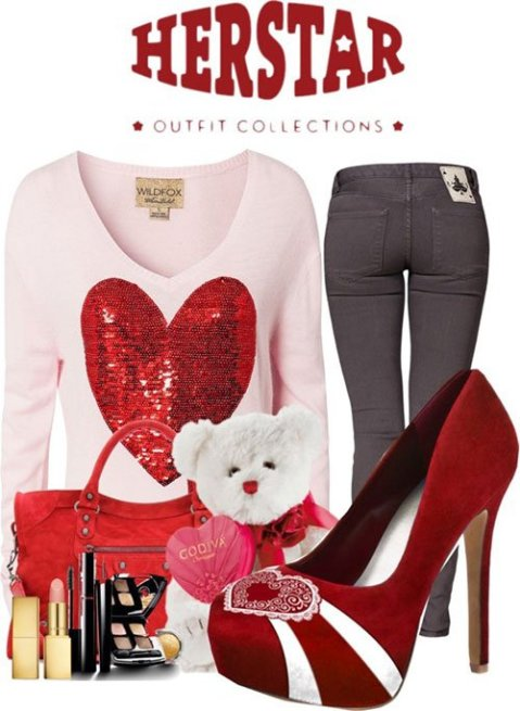 fine casual valentines day outfit ideas