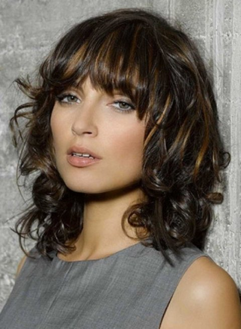 17 Fashionable Hairstyles with Pretty Fringe for 2015 | Styles Weekly