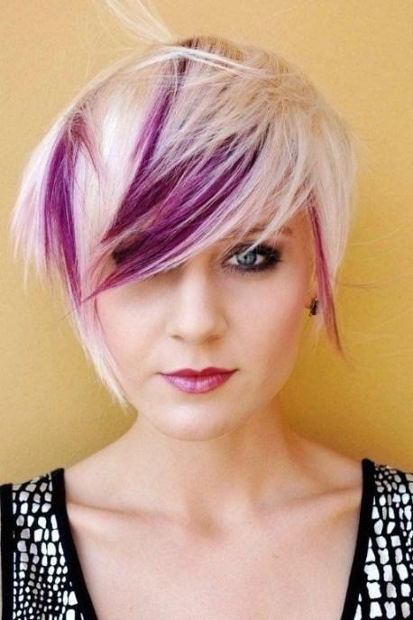 fashionable pixie haircut