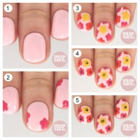 15 Adorable Floral Nail Tutorials for Spring/ Summer ...