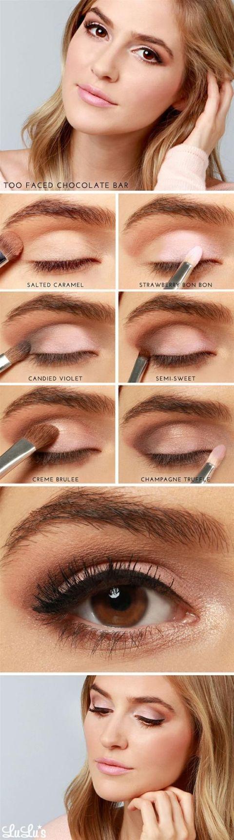 17 Best Light Smoky Eye Makeup Tutorials for Summer ...