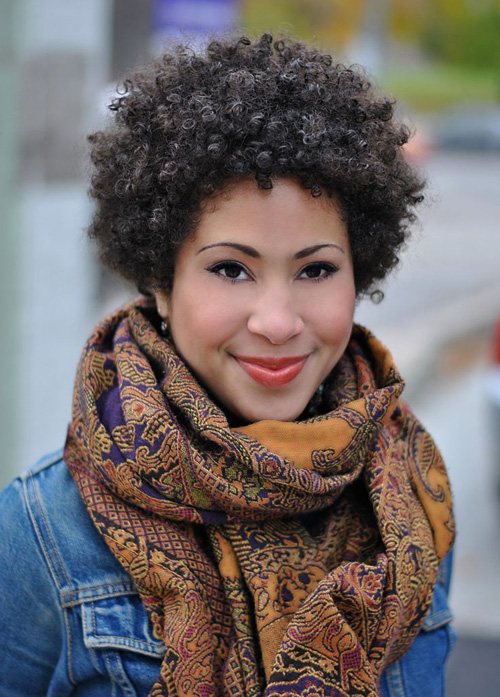 24 Cute Curly and Natural Short Hairstyles For Black Women | Styles Weekly