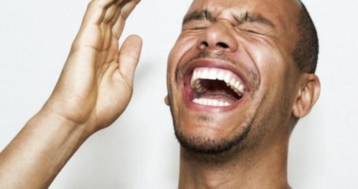 Image result for man laughs