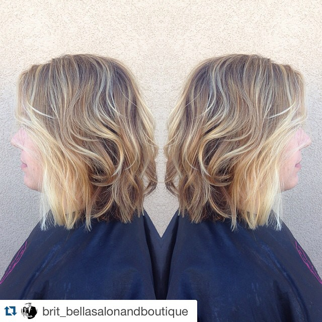 layered messy bob haircut for women over 40