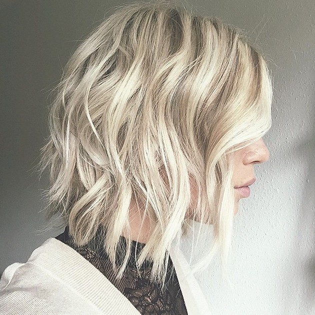 Platinum Hair Curly 20 Medium Length Bob Hairstyles – Fabulous Mobs To Copy
