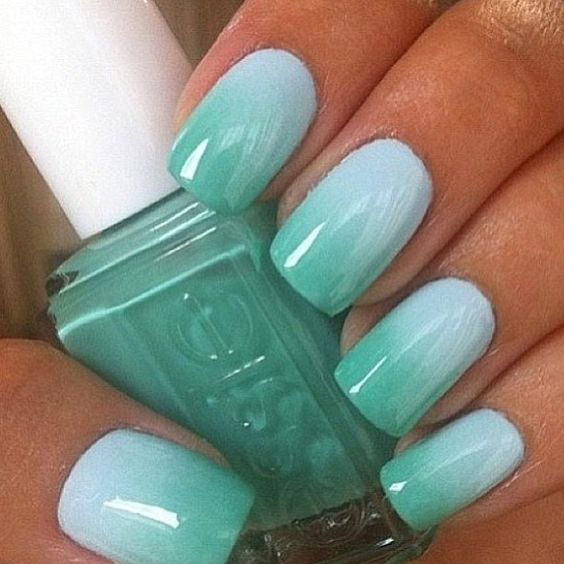 17 Fashionable Mint Nail Designs for Summer - 17 Fashionable Mint Nail Designs For Summer - Crazyforus