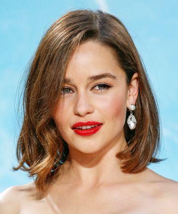 Emilia Clarke Bob Haircut