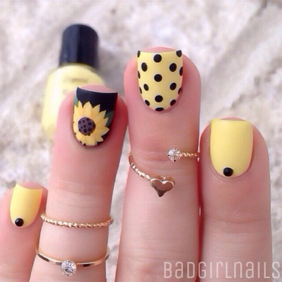 18 Chic Nail Designs for Short Nails , crazyforus