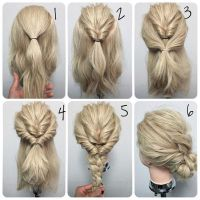 11 Easy Step by Step Updo Tutorials for Beginners  Hair ...