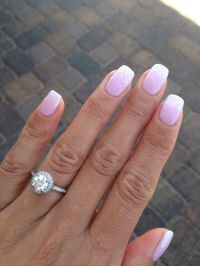 50 Amazing French Manicure Designs  Cute French Nail Art ...