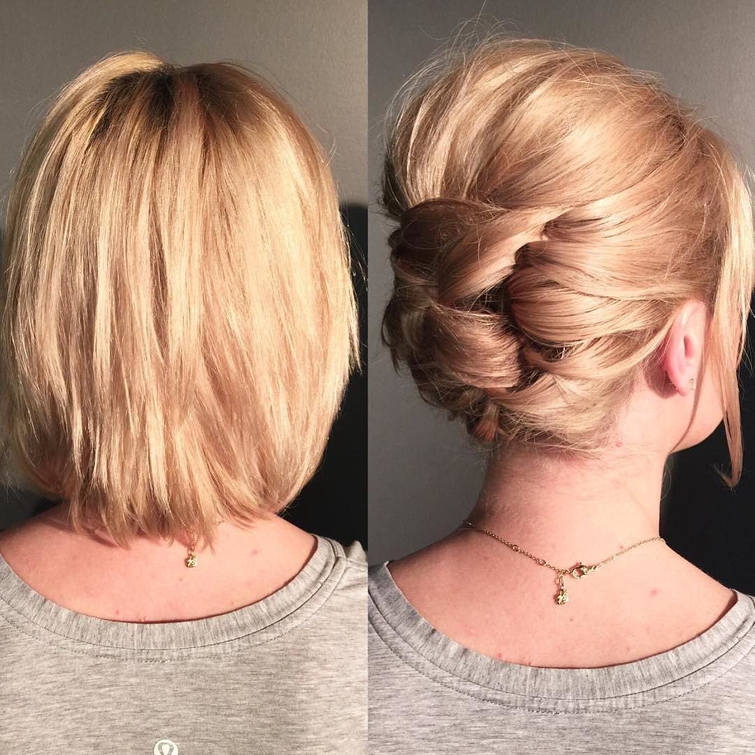 Frisuren Hochzeitsgast 25 Cute Short Hairstyle With Braids Braided Short