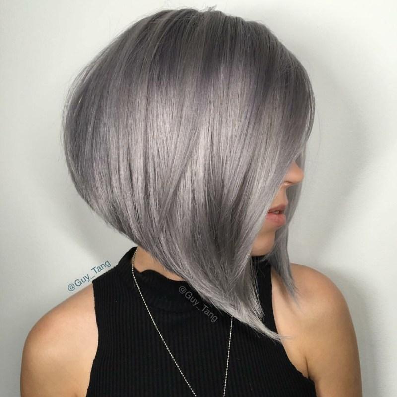 Teal Super Short Bob Hairstyles Women 2018 Styles Weekly A Line Bob ...