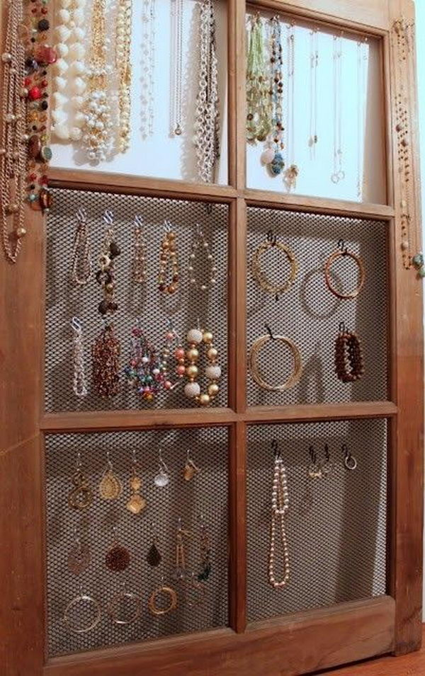 Manualidades Muebles 30+ Creative Jewelry Storage & Display Ideas