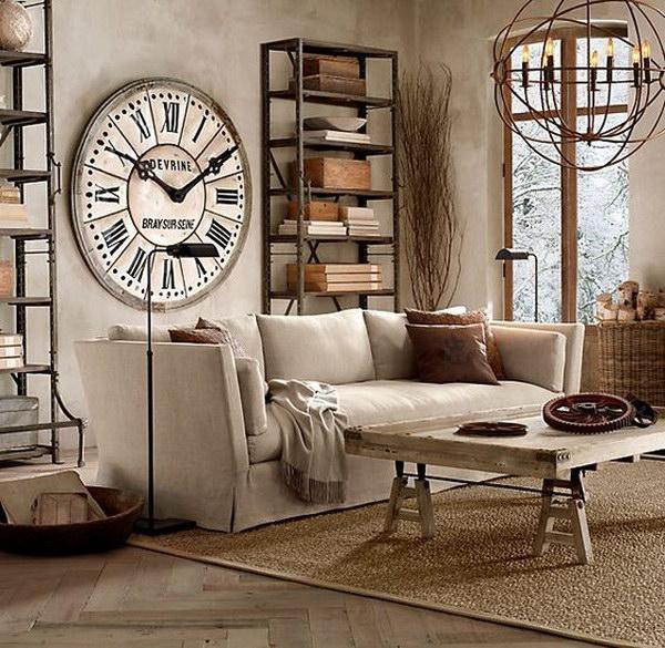 30 Pretty Rustic Living Room Ideas - rustic living room decor