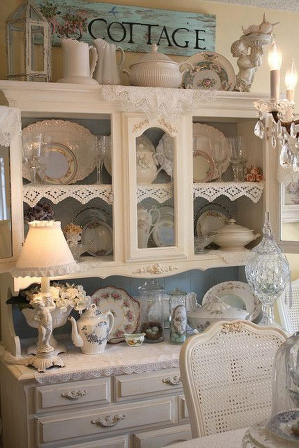 Shabby Style Shabby Chic Dining Room Ideas: Awesome Tables, Chairs And